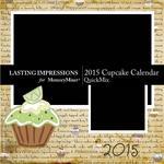 2015 Cupcake Calendar-$5.99 (Lasting Impressions)