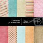 Paper Perfection Vol 3-$4.00 (Karen Lewis)