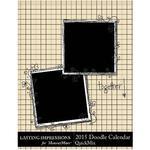 2015 Doodle Calendar  Portrait-$5.99 (Lasting Impressions)