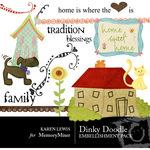 Dinky Doodle Rubons Vol 1-$2.49 (Karen Lewis)