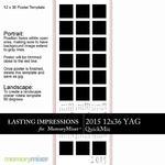 2015 12x36 YAG Calendar-$2.99 (Lasting Impressions)