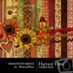 Harvest Time Mini Pack-$2.80 (Designs by Krista)
