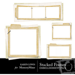 Stacked Frames 1-$2.50 (Karen Lewis)