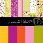 Kitty's Place Paper Pack-$2.99 (s.e.i)