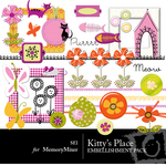 Kitty's Place Embellishment Pack-$1.80 (s.e.i)