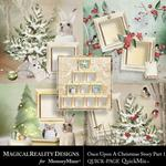Upon a Christmas 1 QuickPages-$3.49 (MagicalReality Designs)