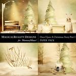 Upon a Christmas 1 Vintage Scenes Paper Pack-$3.99 (MagicalReality Designs)