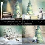 Upon a Christmas 1 Night Scenes Paper Pack-$3.99 (MagicalReality Designs)