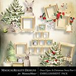 Upon a Christmas 1 Cluster Frames-$1.99 (MagicalReality Designs)