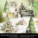 Upon a Christmas 1 Clusters Pack-$1.99 (MagicalReality Designs)