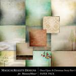 Upon a Christmas 1 Paper Pack 2-$3.99 (MagicalReality Designs)
