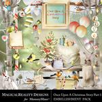 Upon a Christmas 1 Embellishment Pack-$3.49 (MagicalReality Designs)