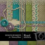 Royal Mini Pack-$3.99 (Designs by Krista)