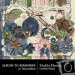 Shabby Denim Combo Pack-$4.99 (Albums to Remember)