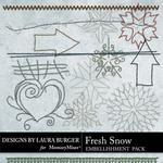Fresh Snow Stitches Pack-$2.49 (Laura Burger)