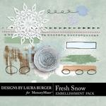 Fresh Snow Mixed Media Pack-$2.49 (Laura Burger)