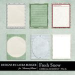 Fresh Snow Journal Pack-$2.49 (Laura Burger)