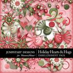 Holiday Hearts and Hugs Pretties Pack-$2.49 (Jumpstart Designs)
