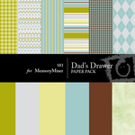 Dads Drawer Paper Pack-$3.50 (s.e.i)