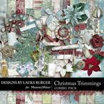 Christmas Trimmings LB Combo Pack-$4.99 (Laura Burger)