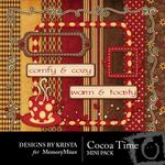 Cocoa Time Mini Pack-$3.99 (Designs by Krista)