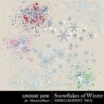 Snowflakes of Winter Scatterz Pack-$1.99 (Lindsay Jane)