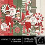 Elf Mischief Combo Pack-$4.99 (Albums to Remember)