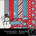 Snow Day Mini Pack-$3.99 (Designs by Krista)