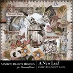 A New Leaf Embellishment Pack-$3.49 (MagicalReality Designs)