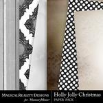 Holly Jolly Christmas Paper Pack 1-$3.99 (MagicalReality Designs)