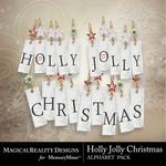 Holly Jolly Christmas Alphabet Pack-$2.99 (MagicalReality Designs)