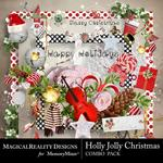 Holly Jolly Christmas Combo Pack-$3.50 (MagicalReality Designs)