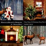 Upon a Christmas 2 Scenes Paper Pack 2-$2.00 (MagicalReality Designs)