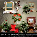 Upon a Christmas 2 Clusters Pack-$2.49 (MagicalReality Designs)