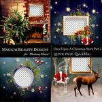 Upon a Christmas 2 QuickPages 2-$3.49 (MagicalReality Designs)