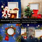 Upon a Christmas 2 QuickPages 1-$3.49 (MagicalReality Designs)