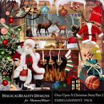 Upon a Christmas 2 Embellishment Pack-$2.00 (MagicalReality Designs)