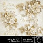 Merry and Bright ID Clusters Pack-$1.99 (Indigo Designs)