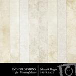 Merry and Bright ID Paper Pack-$2.99 (Indigo Designs)