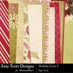 Holiday Love Paper Pack 3-$3.49 (Amy Teets)