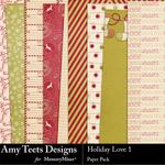 Holiday Love Paper Pack 1-$3.49 (Amy Teets)