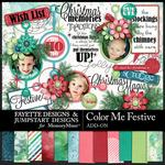 Color Me Festive FDJSD Add On Combo Pack-$7.99 (Fayette Designs)