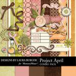 Project April Combo Pack-$4.99 (Laura Burger)