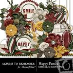 Happy Family ATR Embellishment Pack-$3.49 (Albums to Remember)