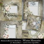 Winter Memories MR QuickPages-$3.99 (MagicalReality Designs)