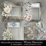 Winter Memories MR Clusters Pack-$2.49 (MagicalReality Designs)
