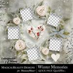 Winter Memories MR Free QuickPage-$0.00 (MagicalReality Designs)