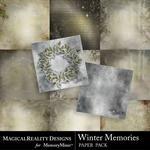 Winter Memories MR Paper Pack-$2.00 (MagicalReality Designs)
