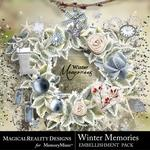 Winter Memories MR Embellishment Pack-$3.99 (MagicalReality Designs)