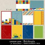Bricktopia Journal Cards-$1.40 (Lindsay Jane)